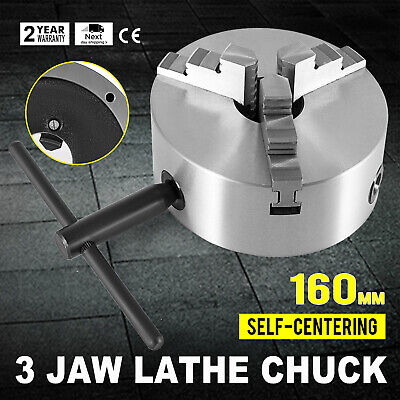 "3 Pcs Internal Jaw Self Centering Chuck CNC Machine for K11-160 6/"" Lathe Chuck"