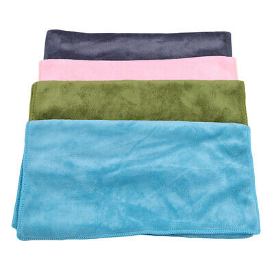 Bath Towels Microfiber Solid Beach Absorbent Soft Thick Antibacterial Drying ONE