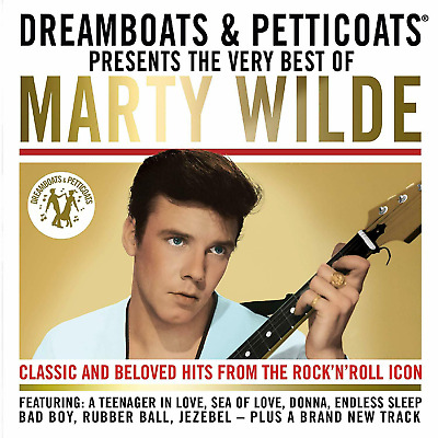 Marty Wilde 'dreamboats & Petticoats : The Very Best Of' Cd 2019
