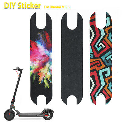 DIY Xiaomi Mijia M365 Electric Scooter Pedal Footboard Griptape Scrub Stickers