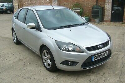 2008 Ford Focus 1 6 Zetec 100 Drives Superbly Ford Service History New Shape