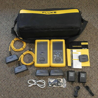 Fluke DSP-4000 Cable Analyzer with DSP-4000SR Smart Remote, See Details!