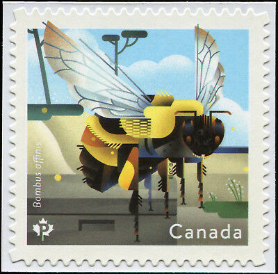 Canada Scott 3099 Rusty-Patched Bumble Bee, SAS  VF MNH OG (19137)