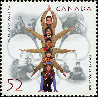 Canada Scott 2225i 100 Years of Scouting, DC QP VF MNH OG (18958)