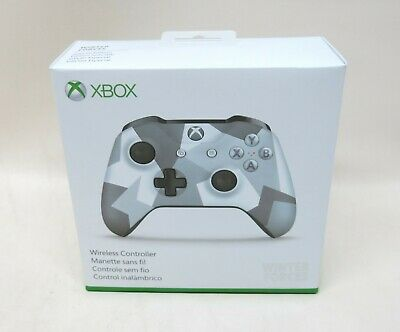 NEW Microsoft Xbox One Wireless Controller Winter Forces Special Edition 1708