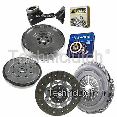 2 Part Clutch Kit And Sachs Dmf With Luk Csc For Ford Focus Hatchback 1.6 Tdci