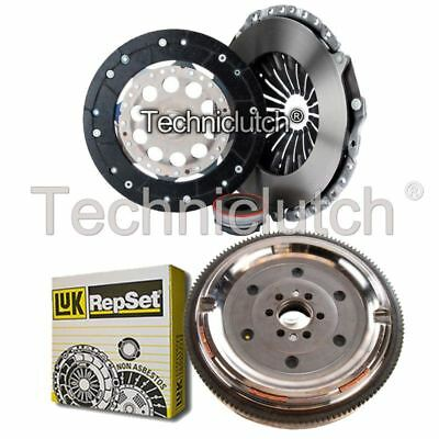 Ecoclutch 3 Part Clutch Kit And Luk Dmf For Audi A4 Saloon 1.8 Quattro
