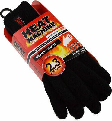 Mens GUARANTEED WARMTH Heat Machine 2.3 TOG RATED VERY HOT Thermal Ski Gloves