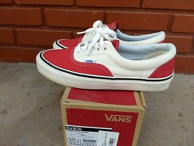 f78ed51c1f VANS ERA 95 DX (ANAHEIM FACTORY) OG RED WHITE Mens 9 -  35.00