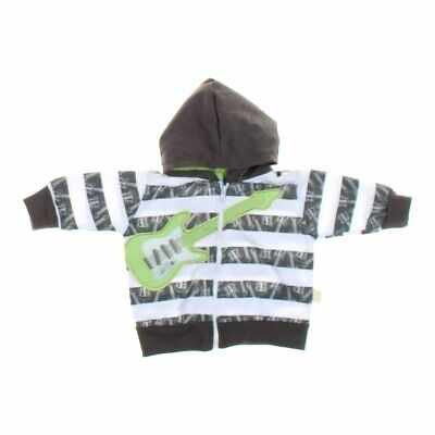 Duck Duck Goose Baby Boys Hoodie, size NB,  grey, green, white,  cotton