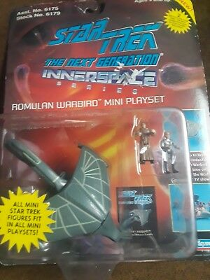 Star Trek NG Romulan Warbird mini playset brand new