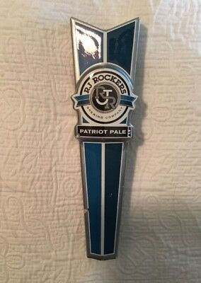 RJ Rockers Brewing Company Patriot Ale Beer Tap Pull / Handle 10 1/4""