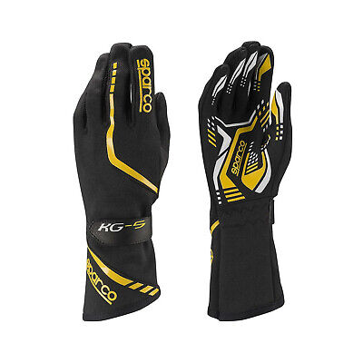 Sparco Gloves Torpedo KG-5 black/yellow - Genuine - 13
