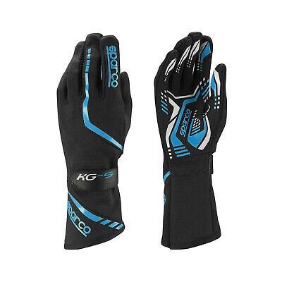 Sparco Gloves Torpedo KG-5 black/blue - Genuine - 9