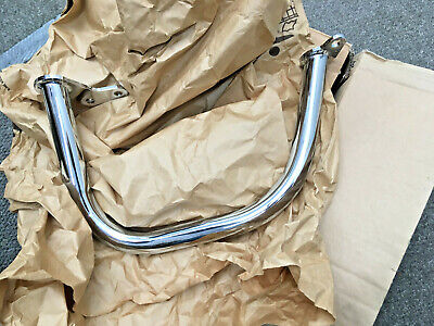 Moto Guzzi Chrome Engine Crash Bars 063588