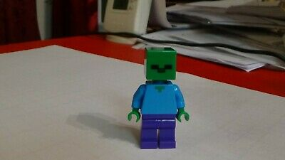 21118 The Mine Minecraft BRAND NEW min010 Lego Zombie from Sets 21113 The Cave