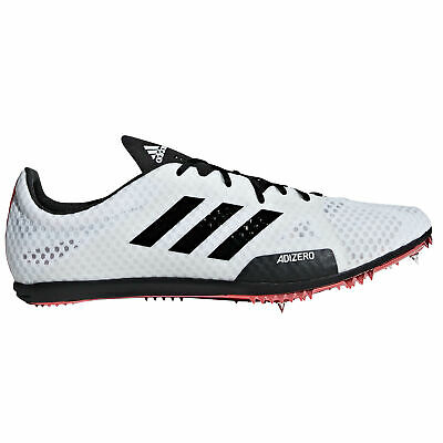 adidas adizero Ambition 4 Mens Running Spike Shoe White/Black/Red