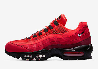 best service 022ba cebed Nike Men s AIR MAX 95 OG Shoes Habanero Red White University Red AT2865-