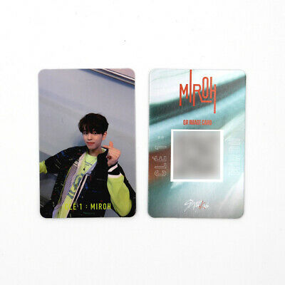 [STRAY KIDS]SKZ / Cle1 : MIROH Official Photocard/CLE 1:MIROH LOGO/SEUNGMIN