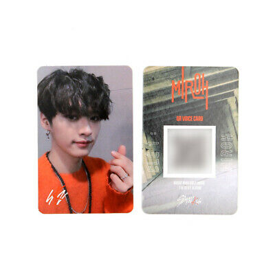 [STRAY KIDS] SKZ / Cle1 : MIROH Official Photocard / SKZ LOGO / LEEKNOW