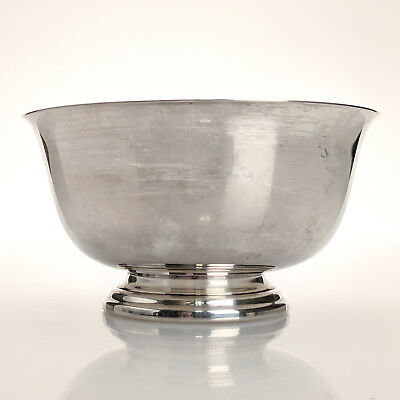 "Vintage Webster-Wilcox International Silver Co. Silver Plate 6"" Trophy Bowl"