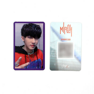 [STRAY KIDS] SKZ / Cle1 : MIROH Official Photocard / Purple Border / CHANGBIN