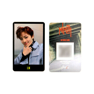 [STRAY KIDS] SKZ / Cle1 : MIROH Official Photocard / Black Border - I.N