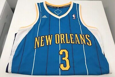 factory price 63151 f7095 NWT ADIDAS NEW Orleans Hornets Chris Paul T Shirt Jersey ...
