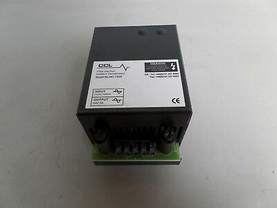 Ccl Isolation Transformer 541-7829 Lot# Misc-10