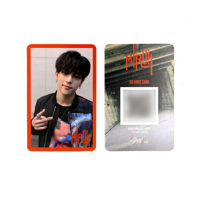 [STRAY KIDS] SKZ / Cle1 : MIROH Official Photocard / Red Border / WOOJIN