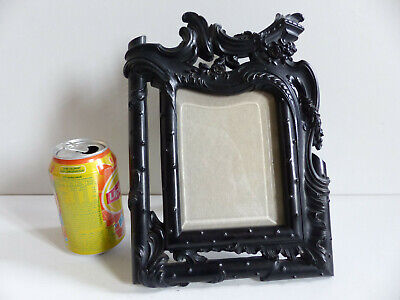 SUPERB LARGE ANTIQUE LATE 19th CENTURY GUTTA PERCHA BAKELITE PICTURE FRAME 1880s
