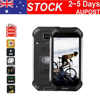 3G Rugged Outdoor SmartPhone 4.5'' Discovery V19 Android 6.0 Quad Core Phone AU