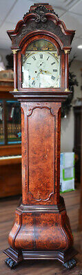 c010 Cardigan 1720's or 1740's Tall Case Grandfather Clock Local Pickup Only