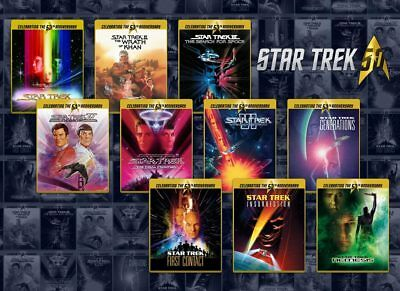 Star Trek 1-10 Collection (Exclusive Limited Edition Blu-ray Steelbooks) [UK]