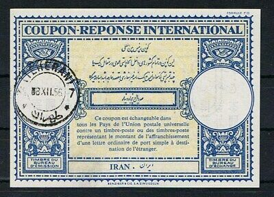 Persien, intern. Antwortschein Teheran 1956, Coupon-Reponse International