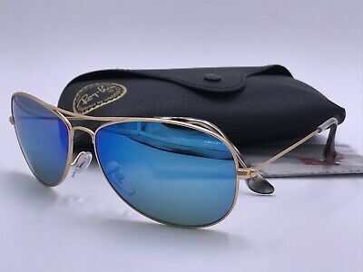 c39a93ea18 RAY BAN Sunglasses RB3562 112 A1 BLUE Mirror CHROMANCE POLARIZED AUTHENTIC  Italy
