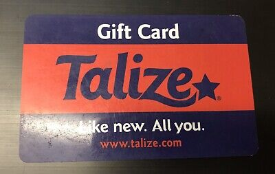 Talize Gift Card - $42.89 Mail Delivery
