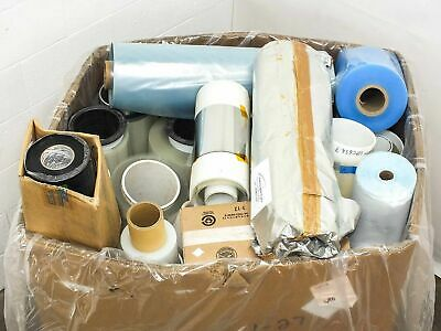 Lot of 850 LBS - Assorted Solar Panel Manufacturing Material Rolls - Encapsulate
