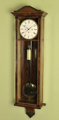 DACHLUHR BIEDERMEIER VIENNA REGULATOR WALL CLOCK -  Mayer in Wein