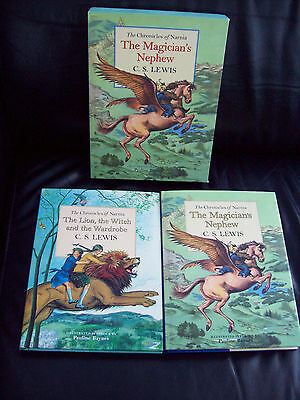 2 X H/b Book Set The Chronicles Of Narnia R.r.p £35.00
