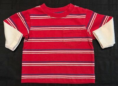 Nwot Gymboree Stripe Long Sleeve Shirt 3-6M