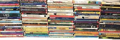 Lot of 10 Mixed Lot of Kids Chapter Books Ages 9-14 - MIXED UNSORTED
