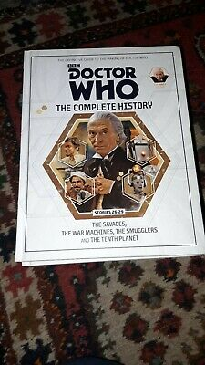 Doctor Who Complete History Volume 8 - First Doctor - Hartnell Hardback Book