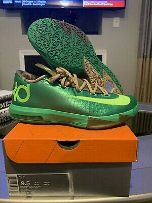 5e2562eb28b NIKE KD (KEVIN Durant) vi 6 Peanut butter and jelly Mens size 9.5 ...