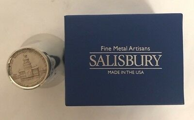*NEW IN BOX* Salisbury Pewter - Fifty Cent Coin Jigger
