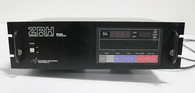 California Analytical Instruments Fuji Electric ZRH Infrared Analyzer