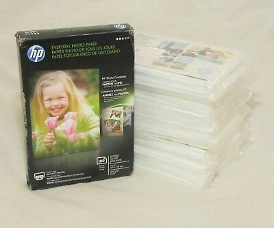 """HP CR759A 4x6 Everyday Photo Paper Glossy - 600 Sheets 4""""X 6"""""""