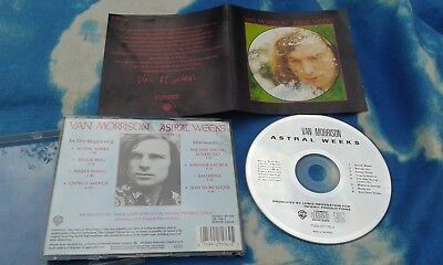 Van Morrison - Astral Weeks  2000 EUROPE CD Warner Bros 7599-27176-2
