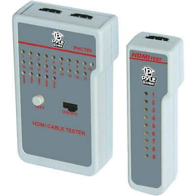 Pyle PHCT85 Cable Tester HDMI HD 9 LED Indicators