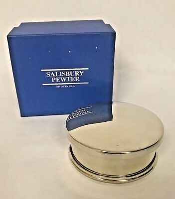 "**NEW** Salisbury Pewter - 2004 Tennessee 3.5"" Jewel Box"